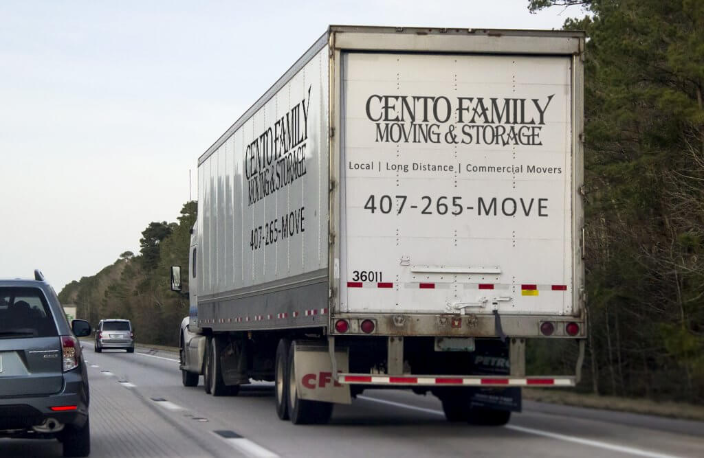 Cross Country Moving Truck Cento Moving