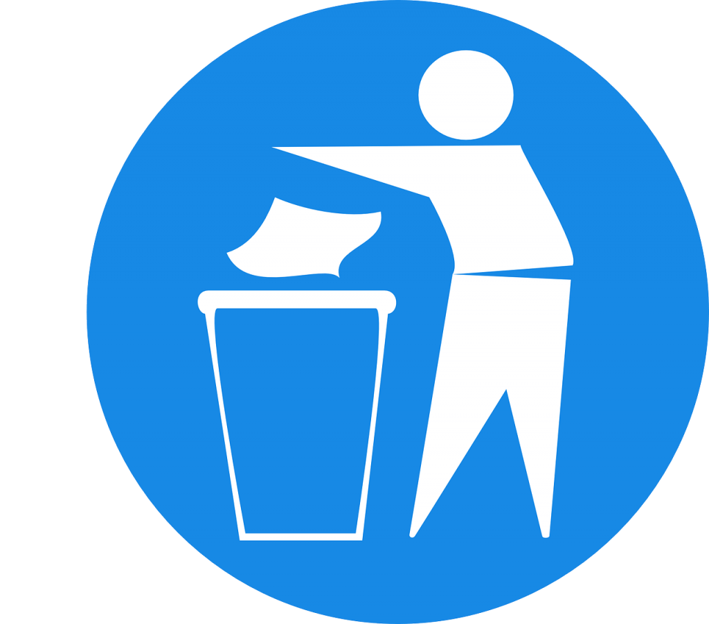 waste disposal symbol