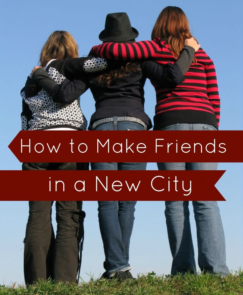 How to make friends in a new city