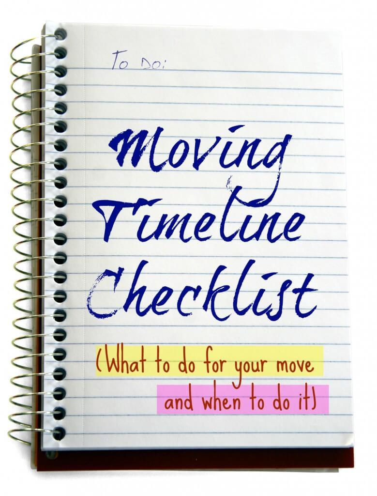 Moving Timeline Checklist 2