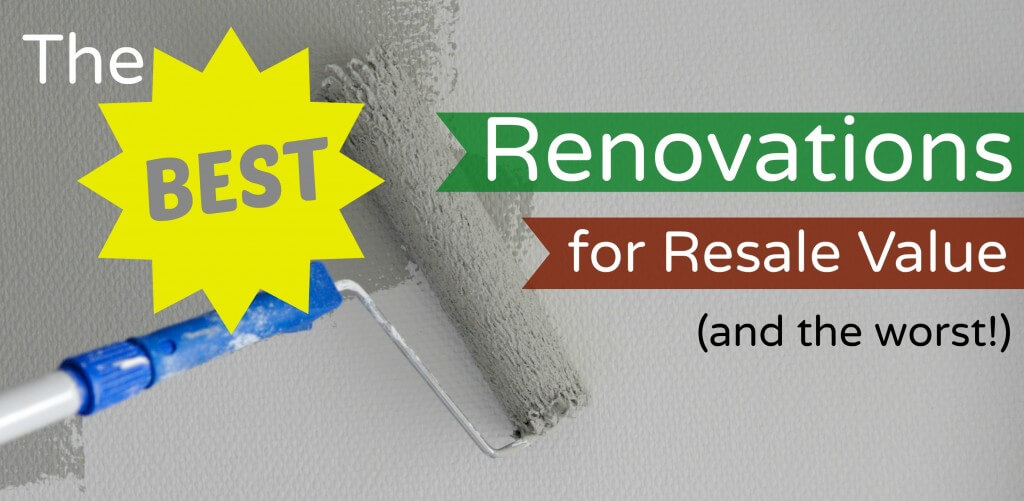 best renovations for resale value