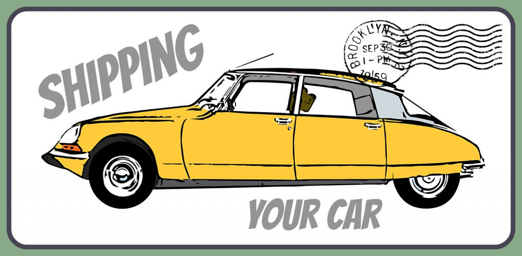 Illustration of a classic Citroen DS