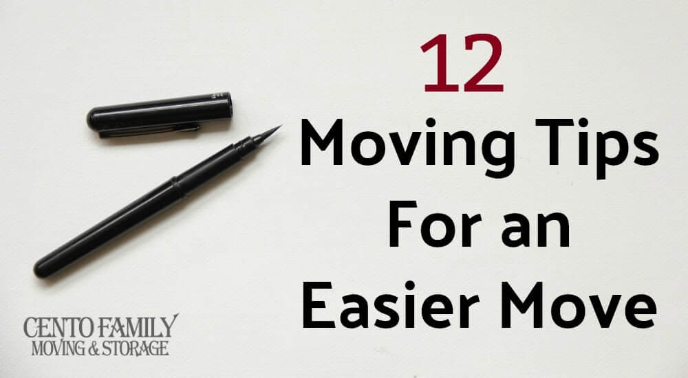 12 Moving Tips for an Easier Move