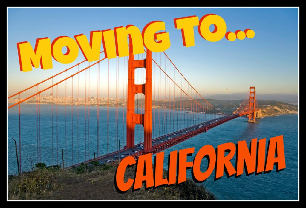 Moving to California? Cento Family Moving can get you there!