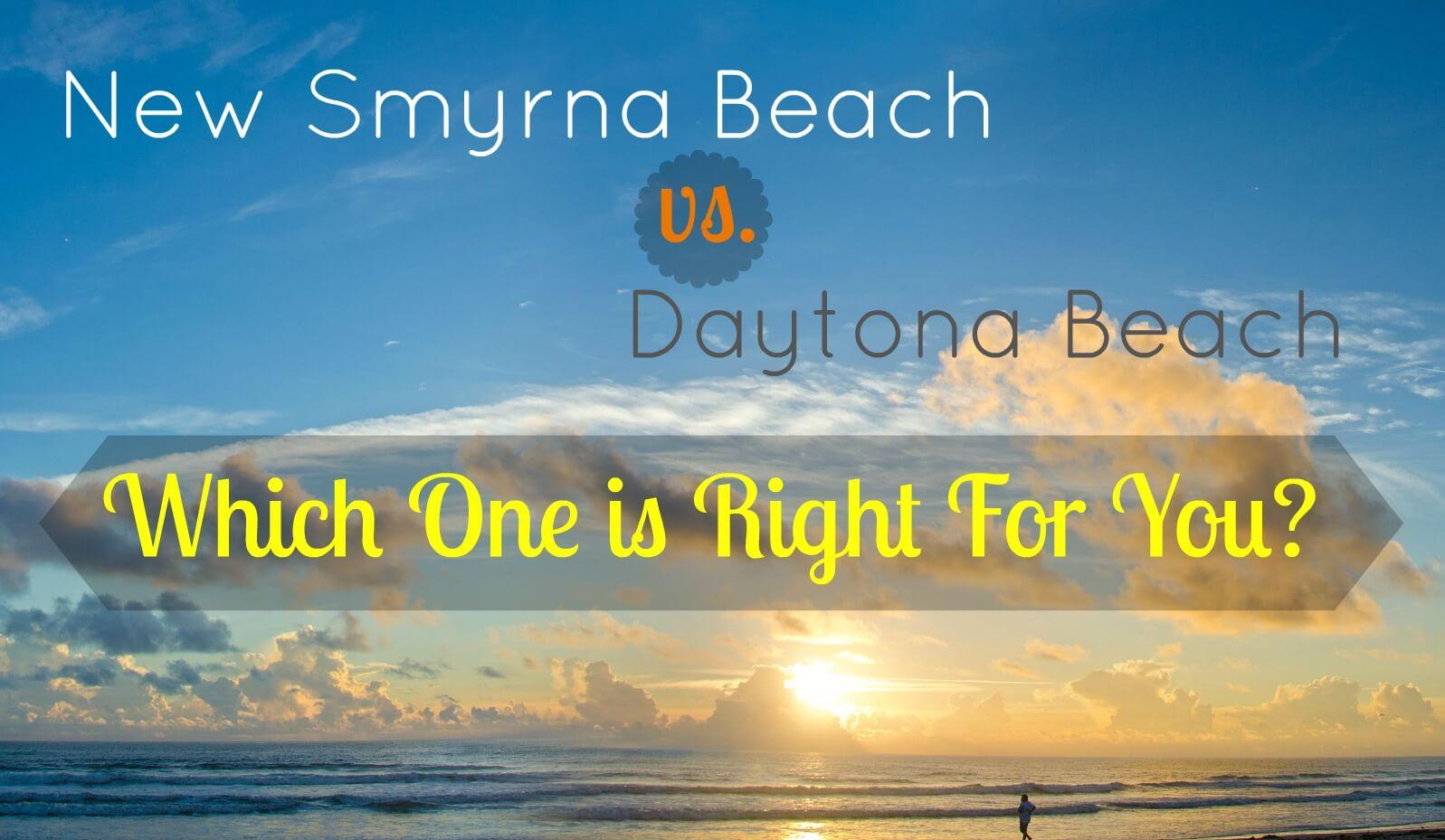 new smyrna beach vs. daytona beach