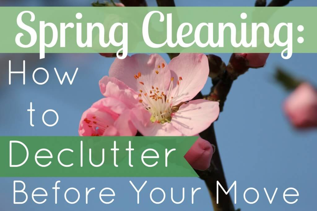 how to declutter before your move