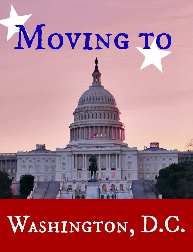 moving to Washington dc