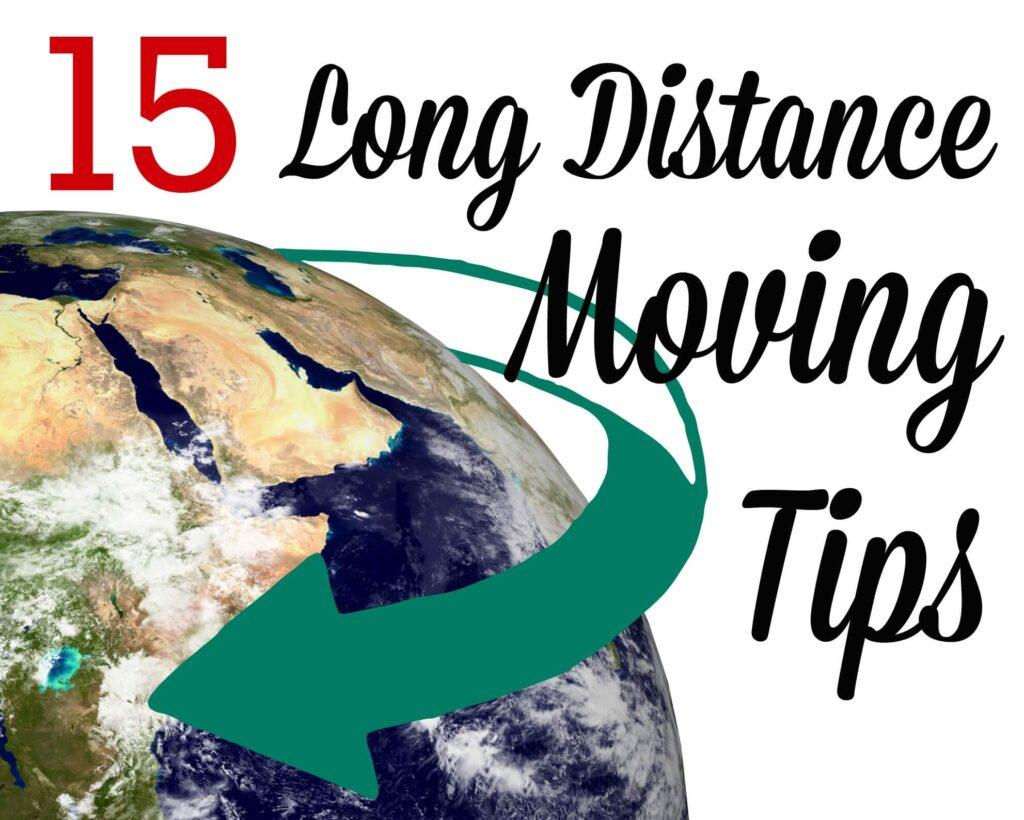 15 long distance moving tips