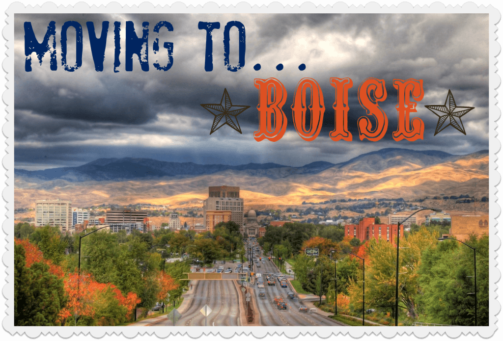 Moving to Boise