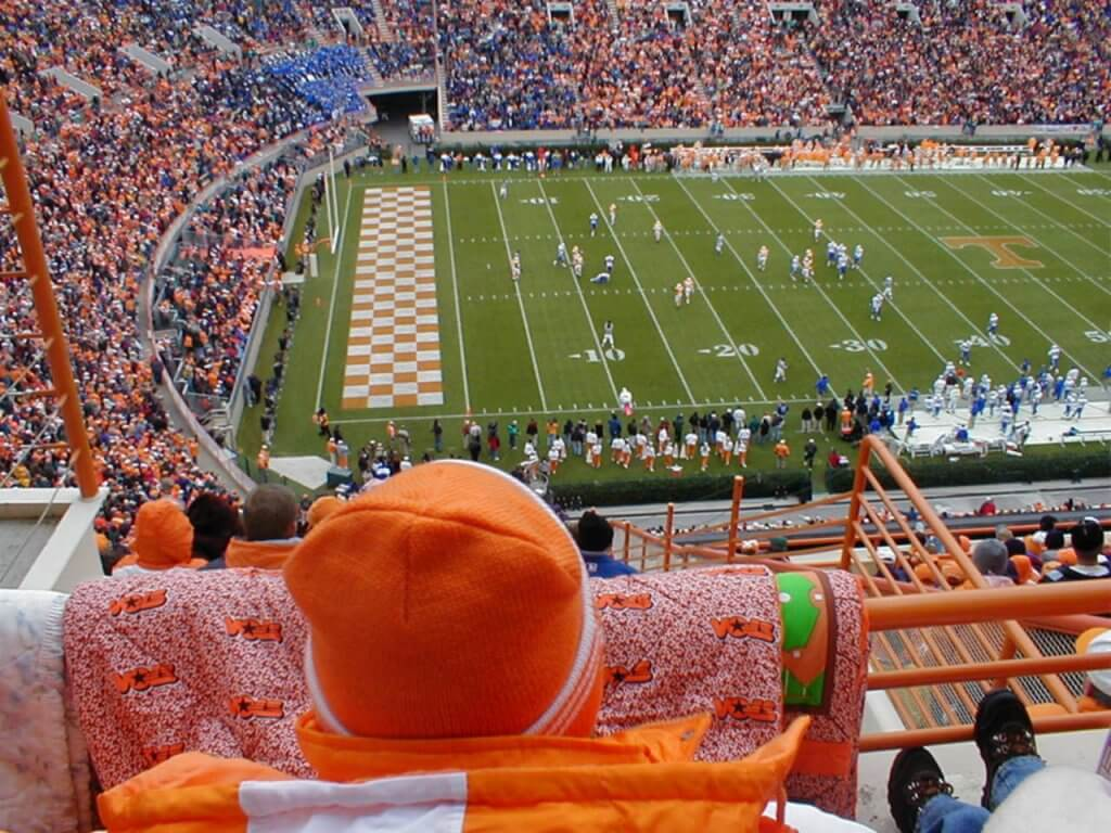 Moving to Knoxville means plenty of chances to cheer on the Vols!