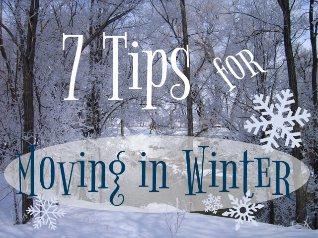Moving in winter can be tough...especially if you're used to Florida weather. Let us walk you through the steps for a successful winter move.