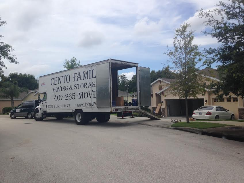Orlando Movers Cento Moving - Moving Truck