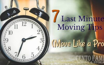 Need to move in a hurry? These last minute moving tips will have you moving like a pro.