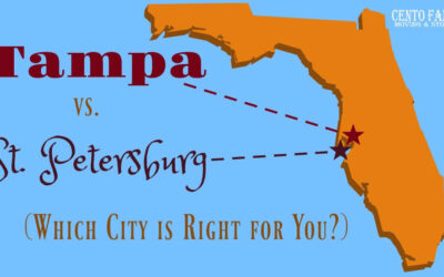 Tampa vs. St Petersburg (Which City is Right For You?)