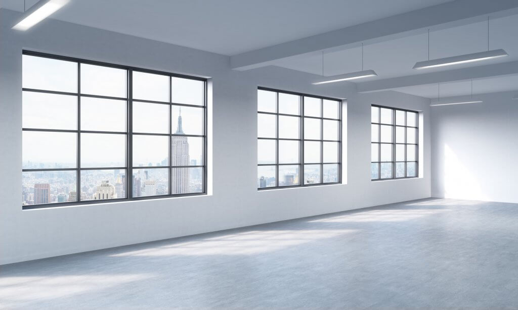 prestigious office space with view of Empire State Building