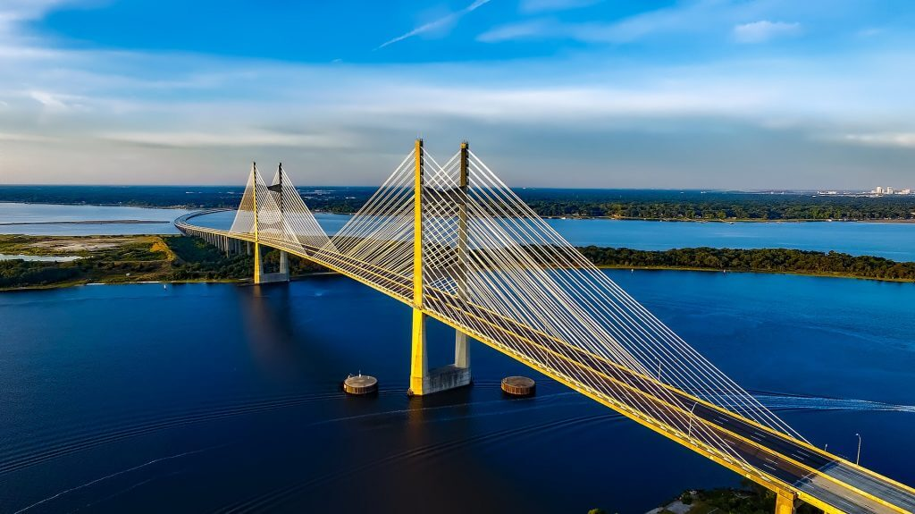 Dames Point Bridge over the St. Johns River
