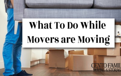 A list of what to do while movers are moving and packing your stuff.