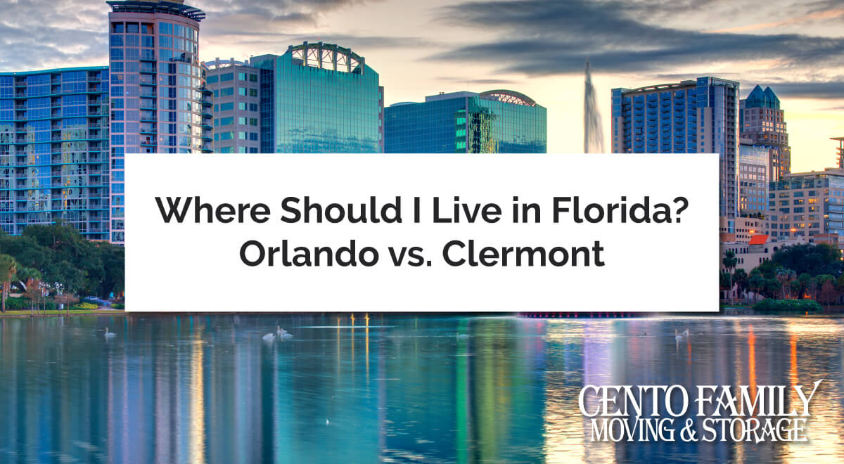 Where Should I Live In Florida Orlando Vs Clermont Cento