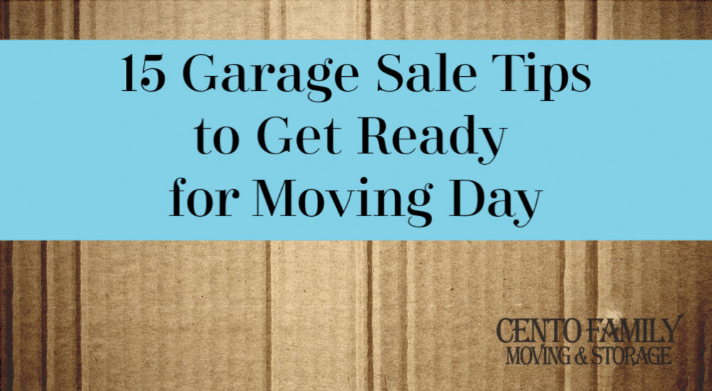 15 Garage Sale Tips to Get Ready for Moving Day