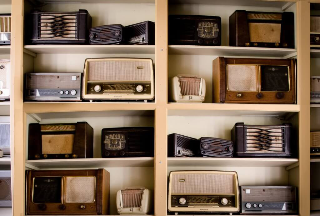 outdated antique radios