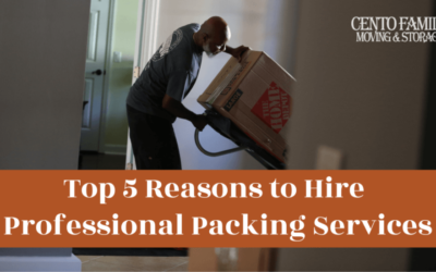 Top 5 Reasons to Hire Professional Packing Services