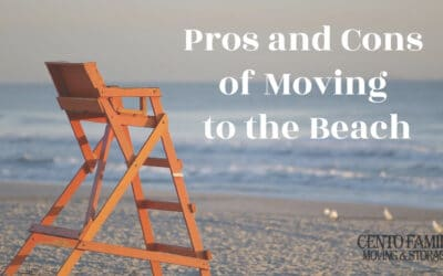 Pros and cons of moving to the beach