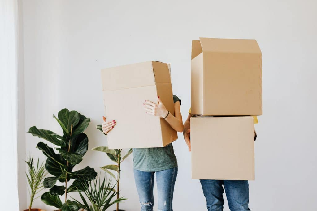 Two weeks before moving day, you should be left with the bare minimum.