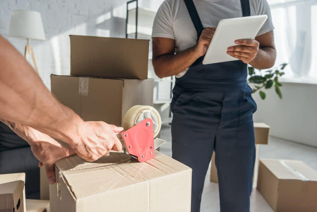 Hiring movers is the easiest way to get a lot of packing done in a short amount of time.