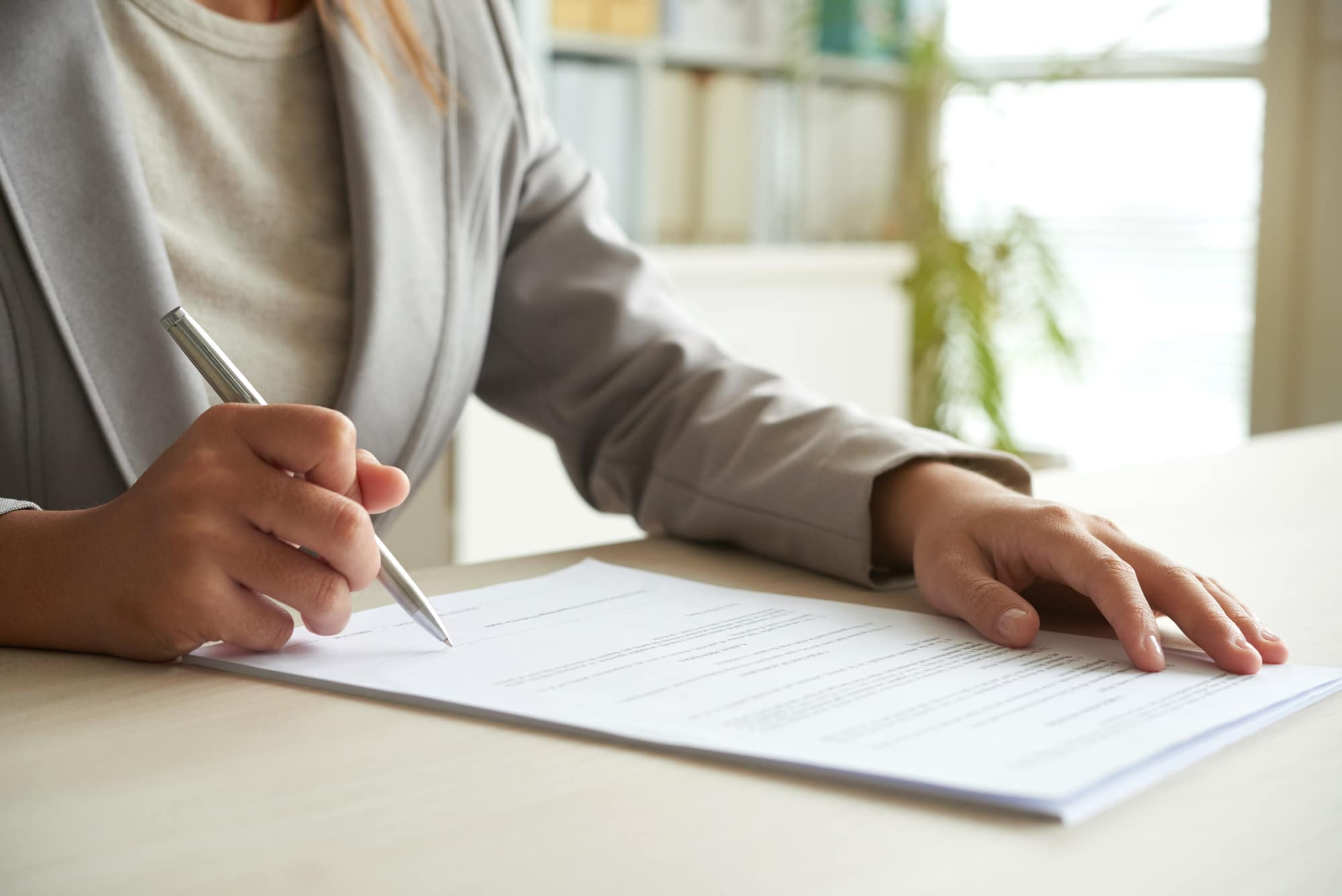 no fine print in moving contract for a long distance move