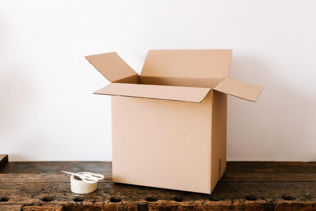 Unused cardboard boxes can handle your move without cracking under the pressure.