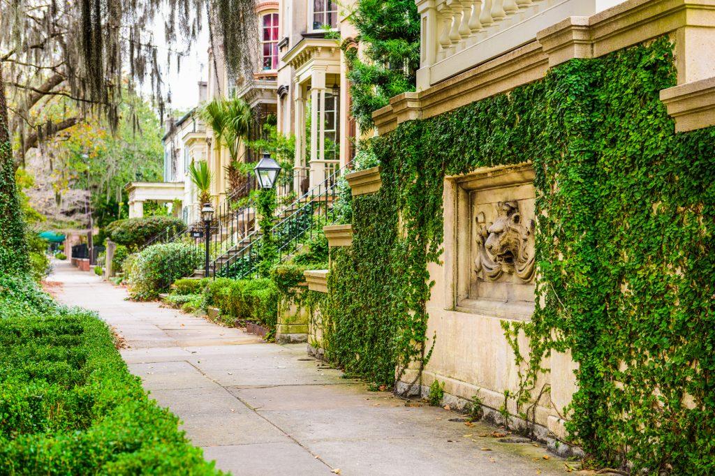 Historic buildings in Savannah, GA