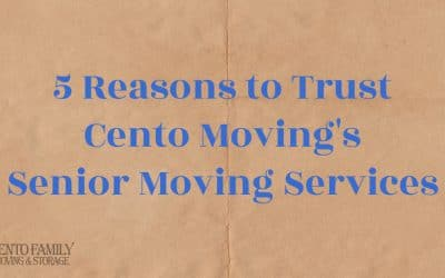 5 Reasons to Trust Cento Moving's Senior Moving Services